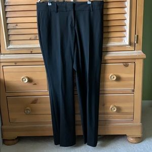Ann Taylor Black Dress Trousers Size 8